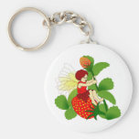 Strawberry Fairy Keychains