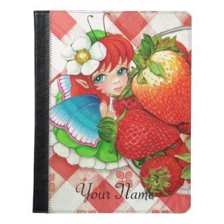 Strawberry Fairy Picnic Art Print iPad Case