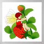 Strawberry Fairy Print