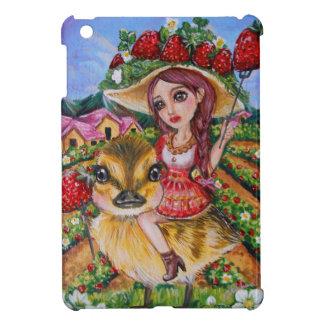 Strawberry Field Fantasy Art Cover For The iPad Mini