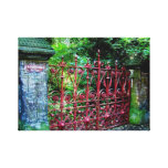 Strawberry Field Gates, Liverpool UK Canvas Print