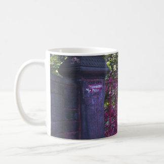 Strawberry Field Gates, Liverpool, UK. Coffee Mug