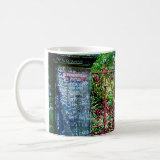 Strawberry Field Gates, Liverpool, UK. Coffee Mug