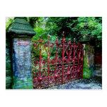 Strawberry Field Gates, Liverpool UK Postcard