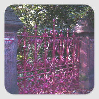 Strawberry Field Gates, Liverpool UK Stickers