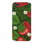 strawberry field iPhone 5 cover