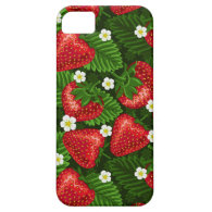 strawberry field iPhone 5 covers