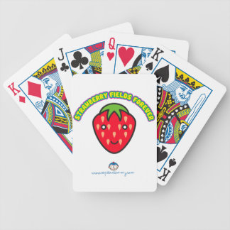 Strawberry Fields Forever Captain Timmy Bicycle Playing Cards