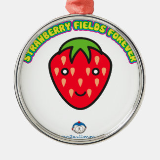 Strawberry Fields Forever Captain Timmy Metal Ornament