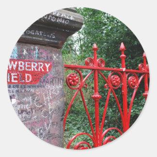 Strawberry Fields Liverpool Classic Round Sticker