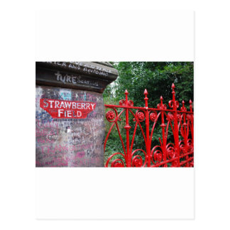 Strawberry Fields Liverpool Post Card