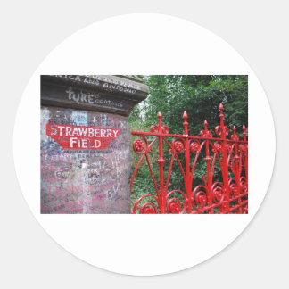 Strawberry Fields Liverpool Stickers