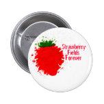 Strawberry Fields Pinback Button