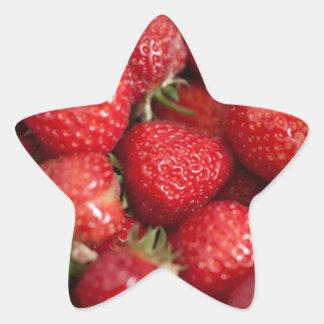 Strawberry Fields Star Sticker