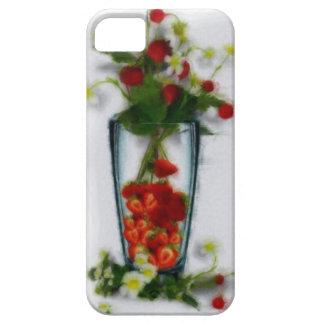 Strawberry floral arrangement iPhone 5 case