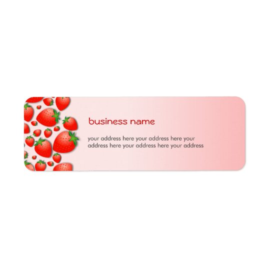 Strawberry Fresh Pink Label