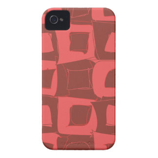 Strawberry Fruit Abstract Design Pattern Case-Mate iPhone 4 Case