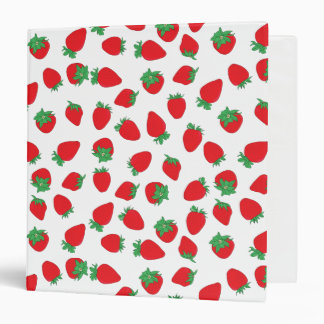 Strawberry Fruit Covered Binder