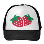 Strawberry Fruit Mesh Hat