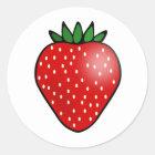 Strawberry Fruit Stickers