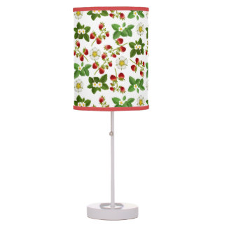 Strawberry Fruit with Flowers Lamp
