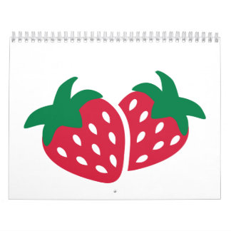 Strawberry Fruit Calendar