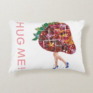 Strawberry Gems Decorative Pillow