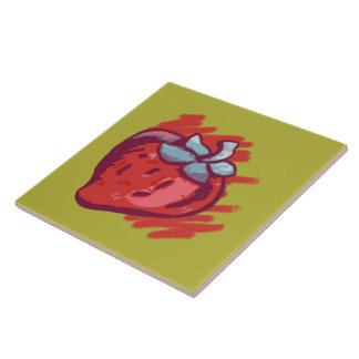 Strawberry Gifts Tile