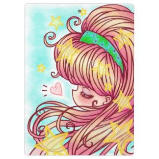 Strawberry Girl Clipboard