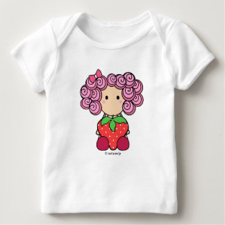 Strawberry Girl Infant Long Sleeve Tee