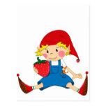 Strawberry Gnome Postcards