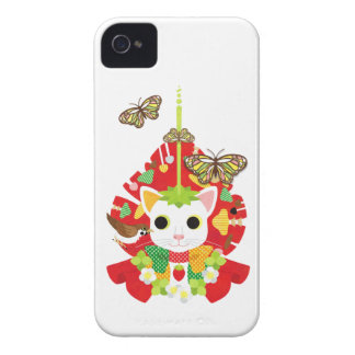 Strawberry great fortune (Strawberry Daifuku) iPhone 4 Covers
