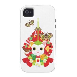 Strawberry great fortune (Strawberry Daifuku) Vibe iPhone 4 Cases