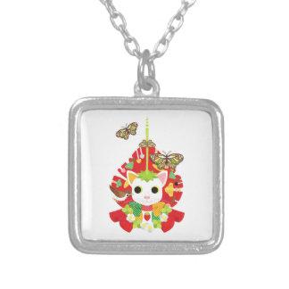 Strawberry great fortune (Strawberry Daifuku) Necklace