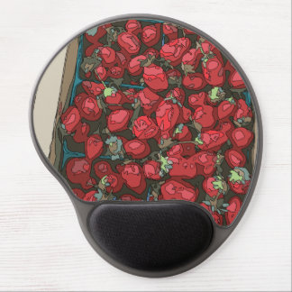 Strawberry Harvest Gel Mousepads