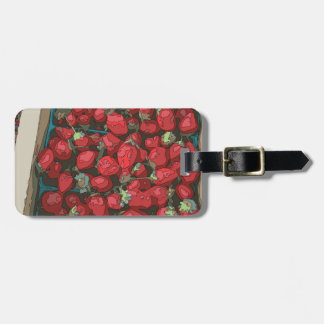 Strawberry Harvest Tags For Bags