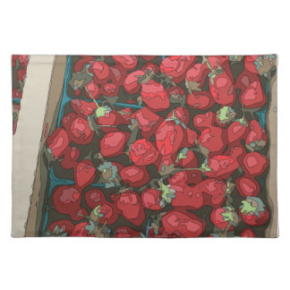 Strawberry Harvest Place Mats