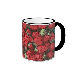 Strawberry Harvest Ringer Mug