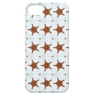 strawberry hearts pattern case iPhone 5 cover
