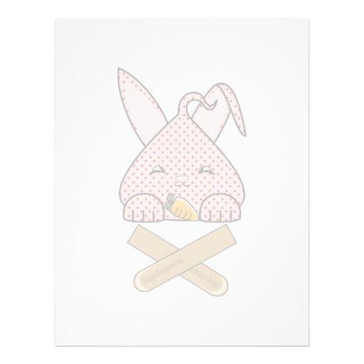 Strawberry Hopdrop Crossticks Custom Letterhead