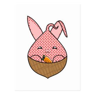 Strawberry Hopdrop Mini Waffle Cone Postcard