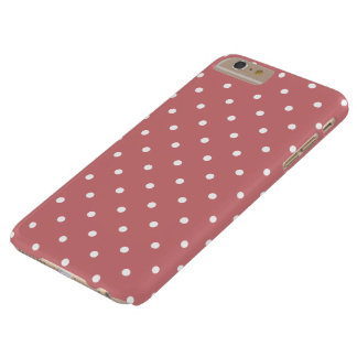 Strawberry Ice 50s Polka Dot iPhone 6 Plus Case