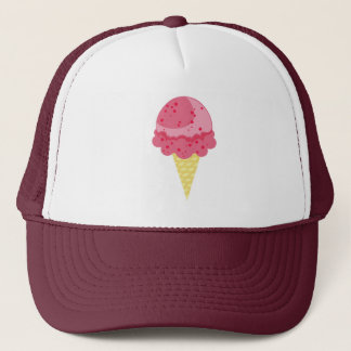 Strawberry Ice Cream Hat
