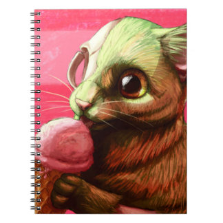 Strawberry Ice Cream Notebook