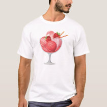 Strawberry Ice Cream T-Shirt