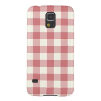 Strawberry Ice Gingham Galaxy S5 Case