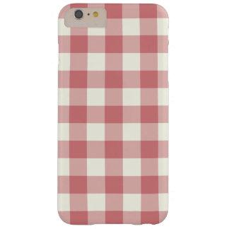 Strawberry Ice Gingham iPhone 6 Plus Case