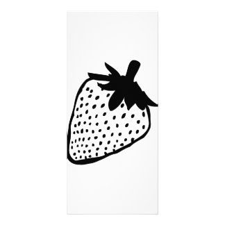 strawberry icon rack card