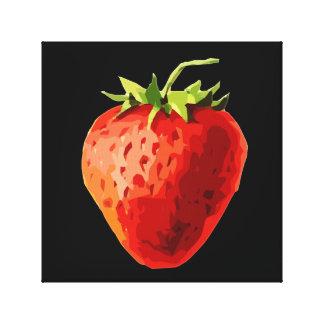 Strawberry Image Canvas Print