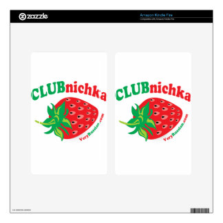 Strawberry in Russian Skins For Kindle Fire